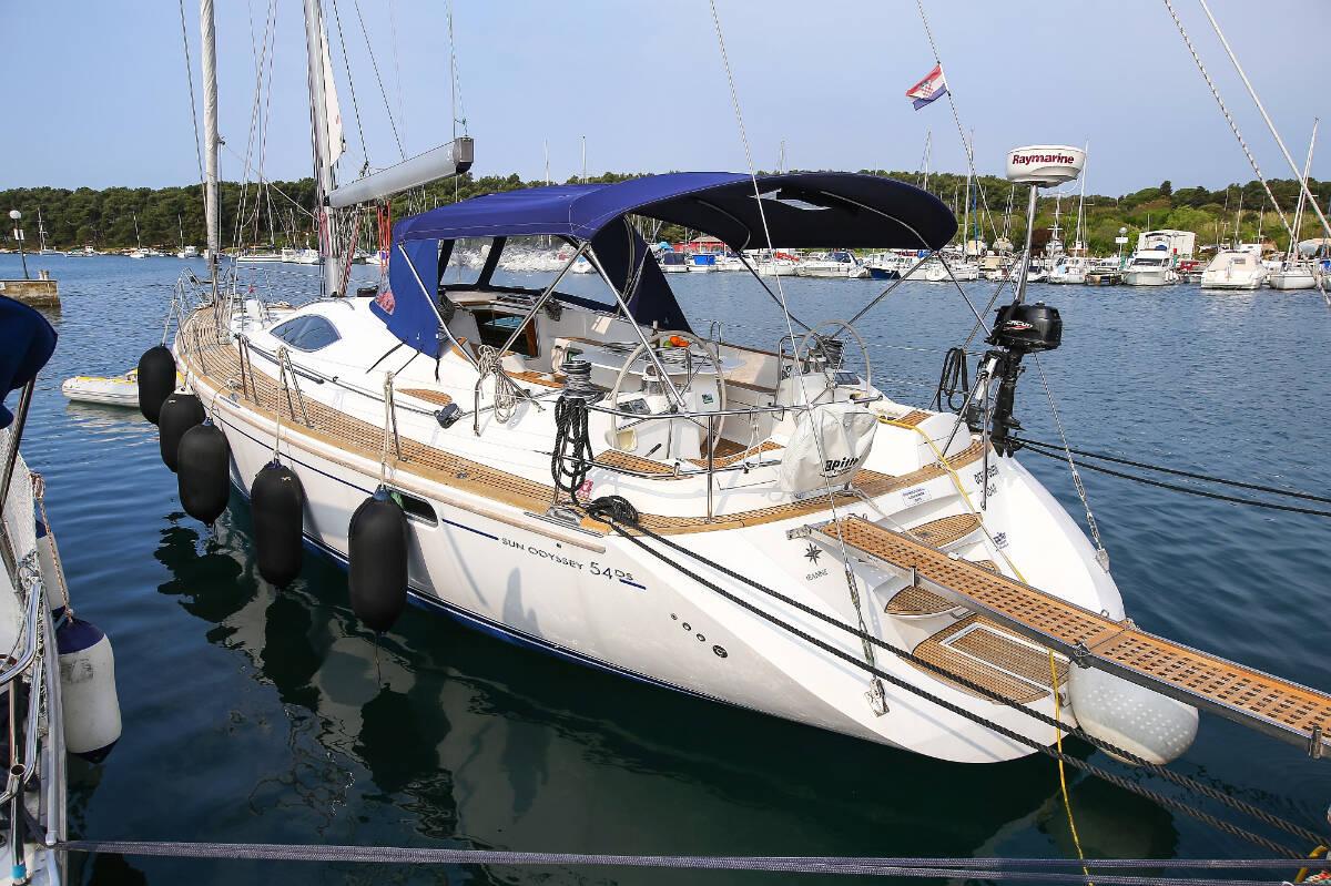 Sun Odyssey 54 DS Ocean Queen